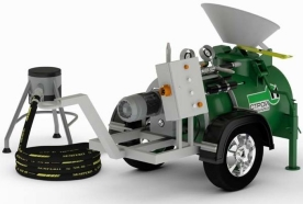 Аренда профессионального оборудования для подачи, транспортировки растворов, пескобетона, бетона