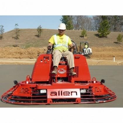 Аренда двухроторной затирочной машины по бетону ALLEN MP 205 (США)