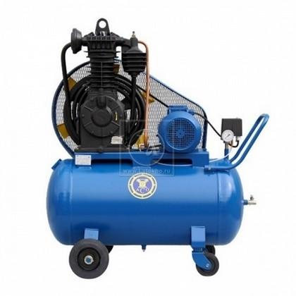 Поршневой компрессор с электроприводом (передвижной)  АСО К2 (Россия)