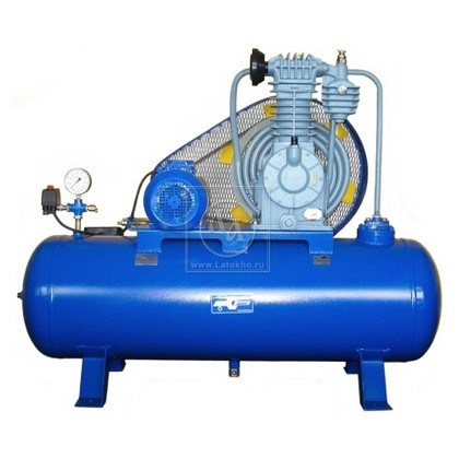 Поршневой компрессор с электроприводом высокого давления (стационарный) АСО К22 (Россия)