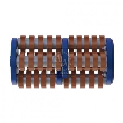Фрезеровальный барабан (фреза) с карбидными ножами TSS-MS8-C, ТСС MS8-H (Китай)