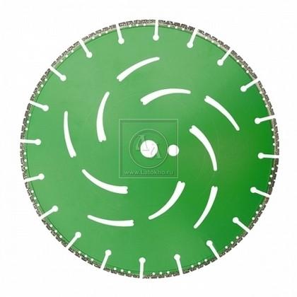 Алмазный диск по бетону, горным породам, дереву, стали, ПВХ, чугуну, полимерам, бронированному стеклу диаметром 300 мм DR.SCHULZE All Cut 300 (Германия)