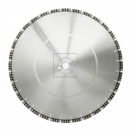 Алмазный диск по армированному бетону, клинкерному кирпичу, строительным материалам (сухая и мокрая резка) диаметром 600 мм DR.SCHULZE Alligator S 600 (Германия)