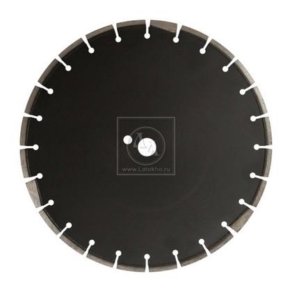 Алмазный диск по асфальту, свежему бетону, абразивным материалам диаметром 500 мм DR.SCHULZE AS-1 500 (Германия)