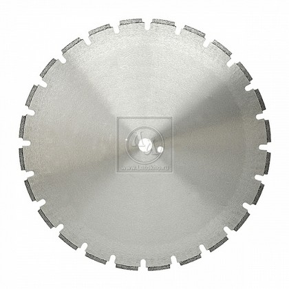 Алмазный диск по армированному старому бетону диаметром 900 мм DR.SCHULZE BW-BFT 4,4 900 (Германия)