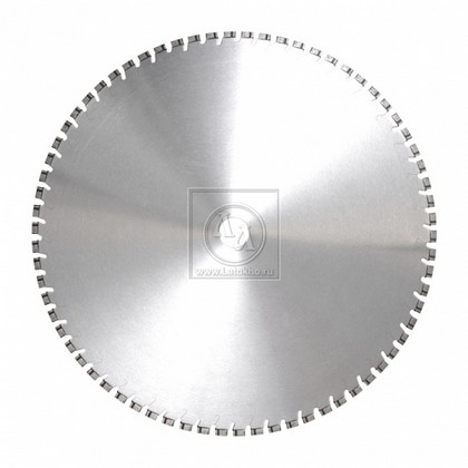 Алмазный диск для стенорезных устройств по армированному старому бетону, бетонным плитам диаметром 650 мм DR.SCHULZE DSW15/DSW20/DSW30 4,7 650 (Германия)