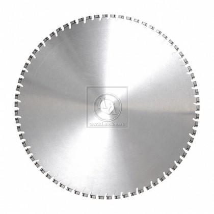 Алмазный диск для стенорезных устройств по армированному старому бетону, бетонным плитам диаметром 650 мм DR.SCHULZE DSW15/DSW20/DSW30 5,0 650 (Германия)