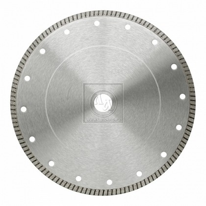 Алмазный диск по керамике, природному камню, твердой плитке диаметром 125 мм DR.SCHULZE FL-HCE 125 (Германия)