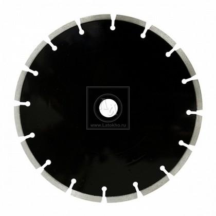 Алмазный диск по мягкому песчанику, кирпичу, черепице, абразивному бетону и др. абразивам диаметром 350 мм DR.SCHULZE L-Abrasiv 350 (Германия)