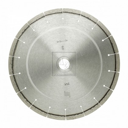 Алмазный диск по граниту, кварцу, твердому песчанику, бордюрному камню диаметром 230 мм DR.SCHULZE L-Granit 230 (Германия)