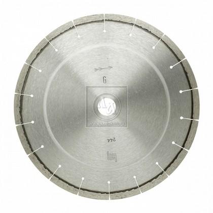 Алмазный диск по граниту, кварцу, твердому песчанику, бордюрному камню диаметром 300 мм DR.SCHULZE L-Granit 300 (Германия)