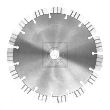 Алмазный диск по армированному бетону, граниту, строительным материалам, сегмент 12 мм DR.SCHULZE Laser 15 125 (Германия)