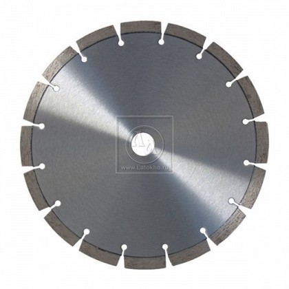 Алмазный диск по армированному бетону, строительным материалам диаметром 350 мм DR.SCHULZE Laser BTGP 350 (Германия)