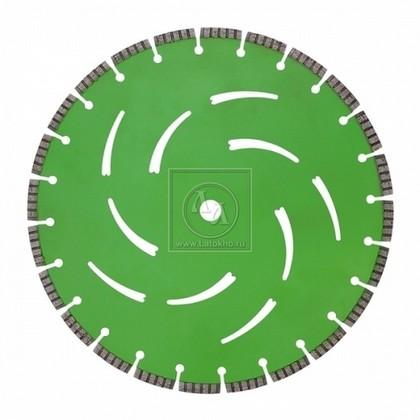 Алмазный диск по армированному бетону, граниту диаметром 350 мм DR.SCHULZE Laser Extreme Cut 350 (Германия)