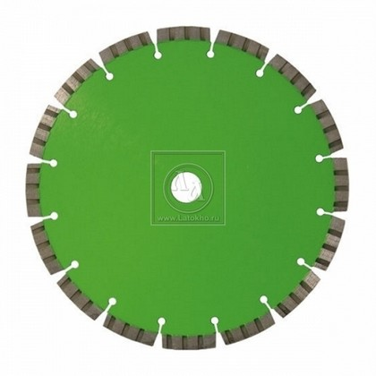 Алмазный диск по армированному бетону, граниту (сегменты с распред. алмазами) диаметром 230 мм DR.SCHULZE Laser Set SP 230 (Германия)