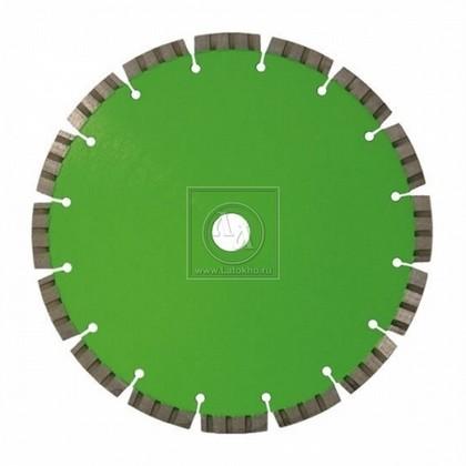 Алмазный диск по армированному бетону, граниту (сегменты с распред. алмазами) диаметром 350 мм DR.SCHULZE Laser Set SP 350 (Германия)