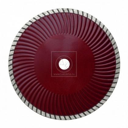 Алмазный диск по бетону, граниту, керамике, бордюрному камню (Turbo) диаметром 230 мм DR.SCHULZE Super Cut S 230 (Германия)