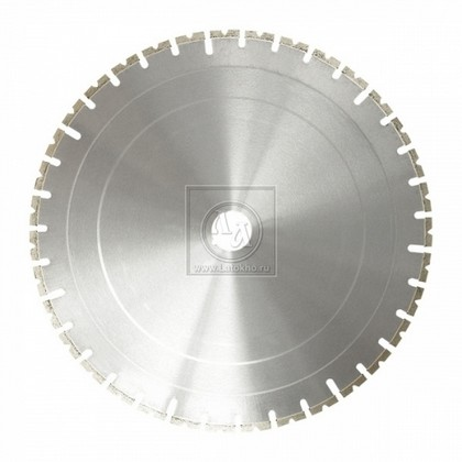 Алмазный диск для стенорезных устройств по армированному бетону диаметром 900 мм DR.SCHULZE Titan PW4  4,4 900 (Германия)
