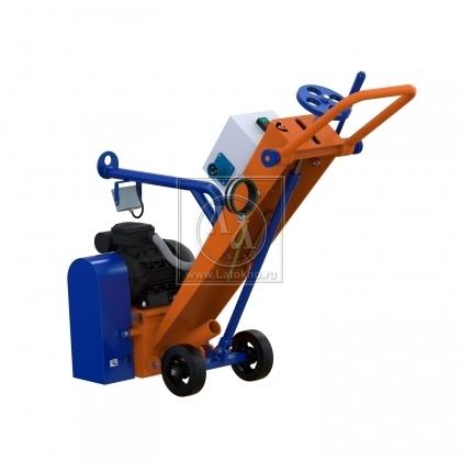 Фрезеровальная машина для обработки бетонных полов (с барабаном) LATOKHO RM 180 E (Россия)