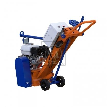 Фрезеровальная машина для обработки бетонных полов, с электростартером (с барабаном) LATOKHO RM 200 GE (Россия)
