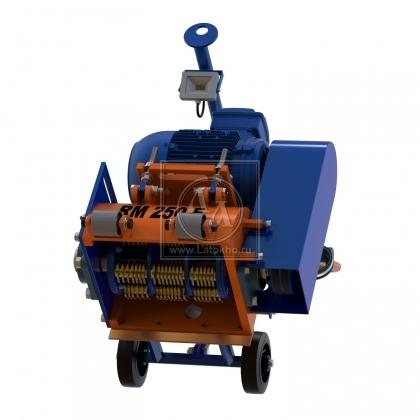 Фрезеровальная машина для обработки бетонных полов и удаления полимеров (с барабаном) LATOKHO RM 250 E (Россия)