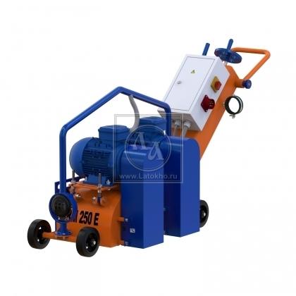 Фрезеровальная машина для обработки бетонных полов и удаления полимеров (с барабаном) LATOKHO RM 250 E Tandem (Россия)