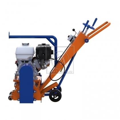 Фрезеровальная машина для обработки бетонных полов и удаления полимеров (с барабаном) LATOKHO RM 250 G (Россия)