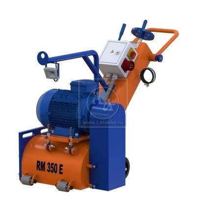 Фрезеровальная машина для удаления высоких марок бетона (с барабаном) LATOKHO RM 350 E (Россия)