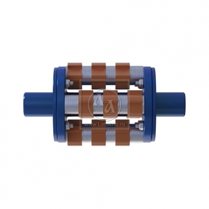 Фрезеровальный барабан (фреза) с карбидными ножами для демонтажа разметки шириной 100 мм LATOKHO DCCR 200/100 (Россия)