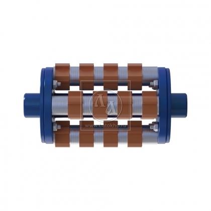 Фрезеровальный барабан (фреза) с карбидными ножами для демонтажа разметки шириной 150 мм LATOKHO DCCR 200/150 (Россия)