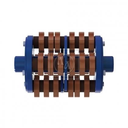 Фрезеровальный барабан (фреза) с карбидными ножами для демонтажа разметки шириной 200 мм LATOKHO DCCR 300/200S (Россия)