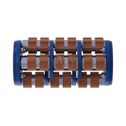 Фрезеровальный барабан (фреза) с карбидными ножами с четырехгранной посадкой LATOKHO DCC 200_4 (Россия)