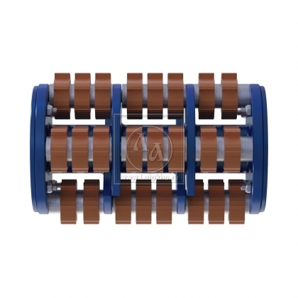 Фрезеровальный барабан (фреза) с карбидными ножами VON ARX DTF 25 SH (Швейцария)