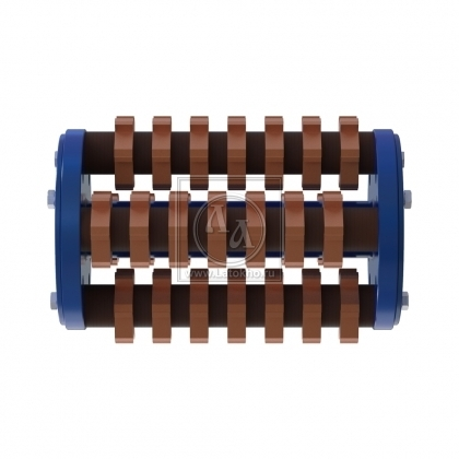 Фрезеровальный барабан (фреза) с карбидными ножами VON ARX VA 30S, VA 30SH (Швейцария)