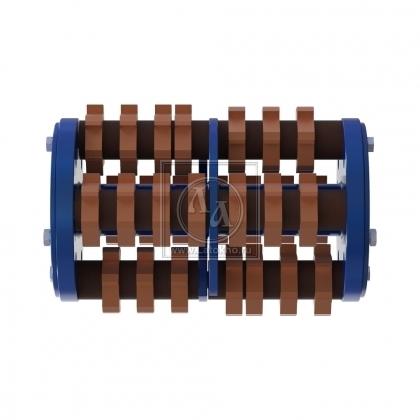 Фрезеровальный барабан (фреза) с карбидными ножами LATOKHO DCC 300S (Россия)