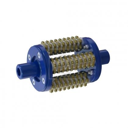Фрезеровальный барабан (фреза) с ламелями для демонтажа разметки шириной 100 мм LATOKHO DSCR 200/100 (Россия)