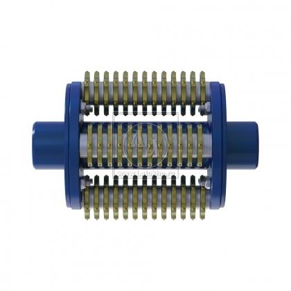 Фрезеровальный барабан (фреза) с шестигранными ножами для демонтажа разметки шириной 150 мм LATOKHO DSCR 250/150 (Россия)