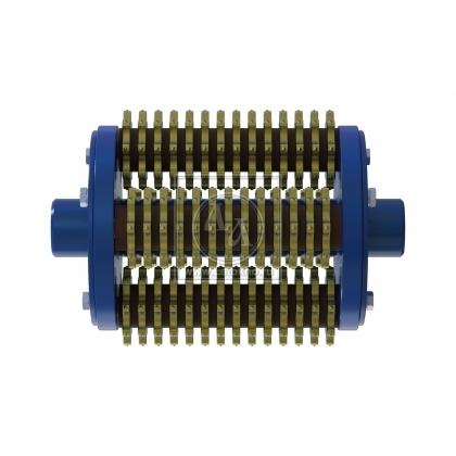 Фрезеровальный барабан (фреза) с восьмигранными ножами для демонтажа разметки шириной 200 мм LATOKHO DSCR 300/200 (Россия)