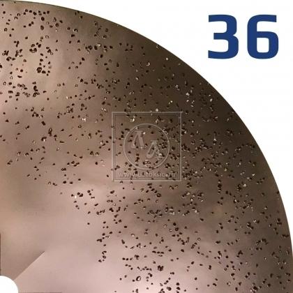 Вольфрамовый диск диаметром 375 мм, двусторонний, мягкий KRUG Grinding disc №36 (Германия)