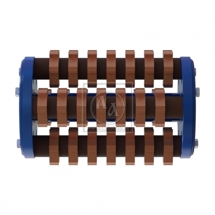 Фрезеровальный барабан (фреза) с карбидными ножами LATOKHO DCC 300 (Россия)