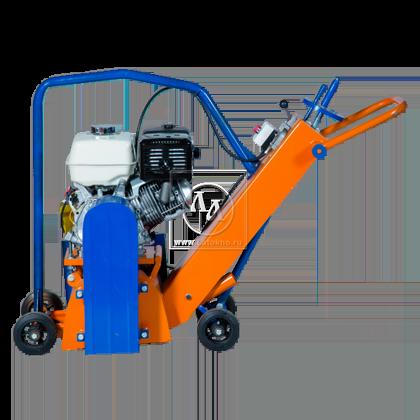 Демаркировочная машина для снятия асфальта, дорожной разметки и бетонного покрытия LATOKHO DM 300 G (Россия)
