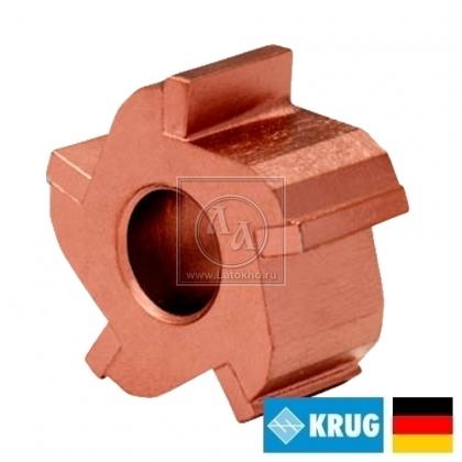 Нож с карбидными вставками на фрезеровальные барабаны 180, 200 мм KRUG Milling cutter (Германия)