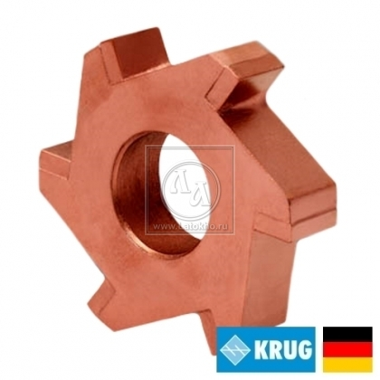 Нож с карбидными вставками на фрезеровальные барабаны 300, 350 мм KRUG Milling cutter (Германия)