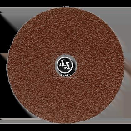 Пад синтетический коричневый диаметром 406 мм для чистки полов, удаления грязи JANSER Pad BROWN (Германия)