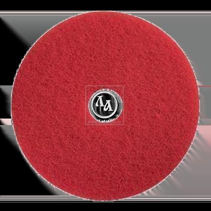 Пад синтетический красный диаметром 406 мм для натирки маслом и воском JANSER Pad RED (Германия)