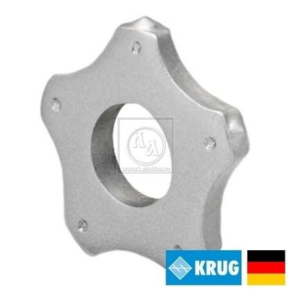 Пятигранный нож (ламель) на фрезеровальные барабаны 180, 200 мм KRUG 5-pt. Star cutter (Германия)