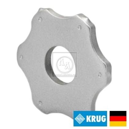 Шестигранный (гексагональный) нож на фрезеровальные барабаны 250 мм KRUG 6-pt. Star cutter (Германия)