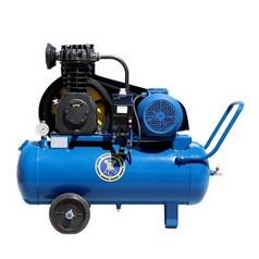 Поршневой компрессор с электроприводом (передвижной) АСО К24М (Россия)