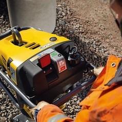 """Вибротрамбовка бензиноваяATLAS COPCO LT 5004 6"""" (Швеция)"""