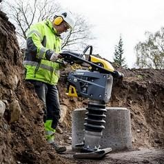 """Вибротрамбовка бензиновая, без индикатора воздушного фильтра и счетчикаATLAS COPCO LT 6005 11"""" (Швеция)"""
